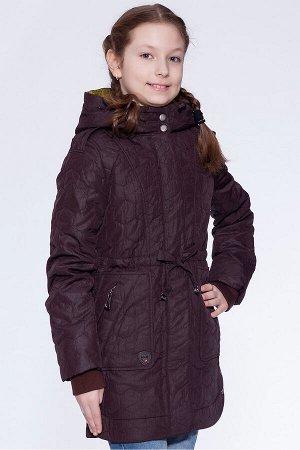 #26980 Детское пальто Темно-коричневый