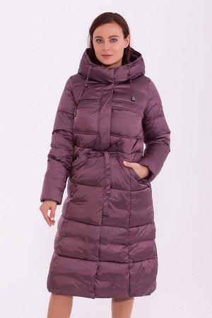 #84232 Пальто Прелая вишня