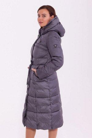 #84231 Пальто Серый