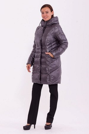 #84219 Пальто Серый