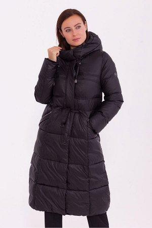 #84212 Пальто Черный