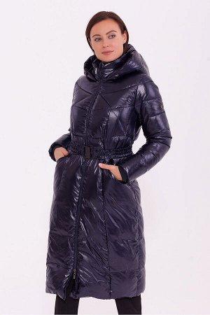 #84206 Пальто Темно-синий