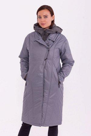 #84202 Пальто Серый