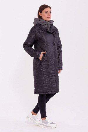 #84201 Пальто Черный