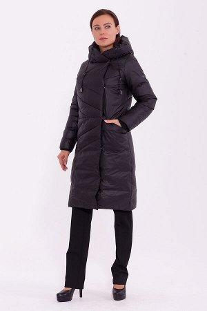 #84197 Пальто Черный