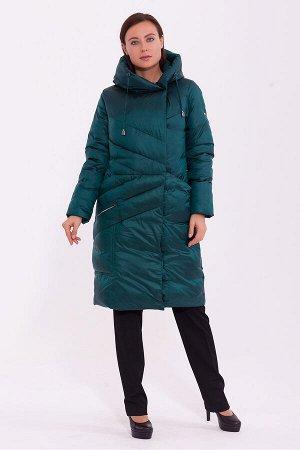 #84195 Пальто Зеленый