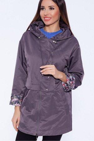 #59236 Куртка Серо-сиреневый