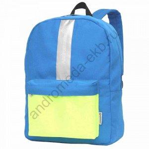 Рюкзак Д32хШ13хВ44 Рюкзак молодежный городского типа, имеет один основной отдел на молнии, внури рюкзака карманы для бумаг и ценных вещей на молни, большой объемный карман на передней стенке, внутри к