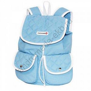 Рюкзак Д28хШ15хВ37 Рюкзак прогулочный, городской, один основной вместительный отдел затягивающийся шнуром, перекидной клапан на магнитных кнопках, накладные карманы на передней стенке, в основном отде