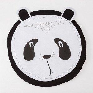 """Коврик детский игровой Крошка Я """"Панда"""", d 90 см, 100% хлопок"""