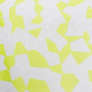 """Тюль """"Этель"""" Абстракция (цвет зелёный) без утяжелителя. ширина 135 см. высота 270 см"""