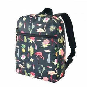 Рюкзак Д28хШ10хВ35 Рюкзак прямоугольной формы на каждый день выполнен из качественного толстого брезента, внутри - хлопковый подклад с сине-белую полоску. Модель имеет один вместительный основной отде