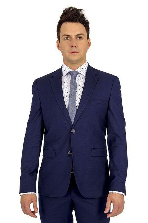 Костюм Сезон: демисезонные. Модель: костюм. Цвет: синий. Комплектация: пиджак, брюки, вешалка. Бренд: Svyatnyh. Фактура: меланж. Посадка: приталенная. Состав подкладки: поливискоза-50%, полиэстер-50%.