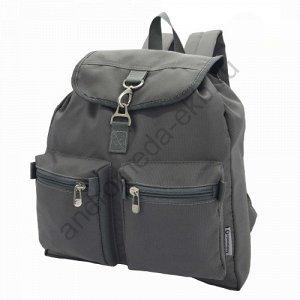 Рюкзак Ш34хГ12хВ44 Прогулочный, молодежный рюкзак спокойной расцветки имеет один основной отдел, который затягивается шнуром и застегивается перекидным клапаном на карабин. В процессе эксплуатации хоз