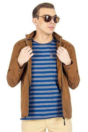 Куртка Сезон летние. Цвет коричневый. Состав полиэстер-100%. Бренд EU-MENS