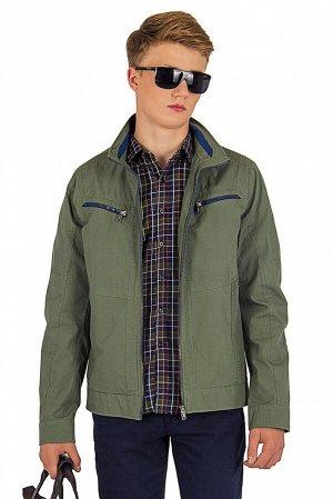 Куртка Сезон летние. Цвет зелёный. Состав хлопок-100%. Бренд EU-MENS