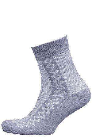 Носки Модель классическая. Цвет серый. Комплектация носки - 1 пара. Состав хлопок-85%, полиамид-10%, эластан-5%