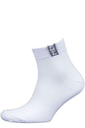 Носки Модель: укороченная. Цвет: белый. Комплектация: носки - 1 пара. Состав: хлопок-85%, полиамид-10%, эластан-5%.