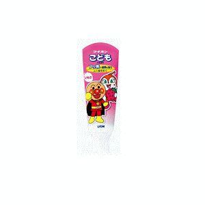 Детская зубная паста со вкусом клубники, слабоабразивная / LION / 40 г.