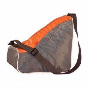 Сумка Д35хШ25хВ35 Один основной отдел на молнии, плечевой регулируемый ремень, на дне сумки люверсы. Назначение: для роликов, коньков, зимней обуви.