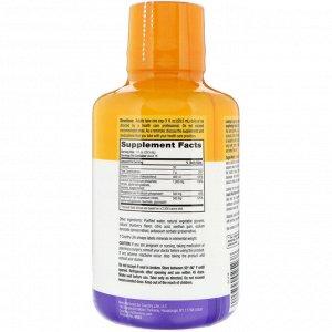 Country Life, Target-Mins Liquid Calcium Magnesium, Blueberry, 16 fl oz (472 ml)