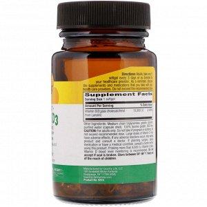 Country Life, High Potency Vitamin D3, 250 mcg (10,000 IU), 60 Softgels