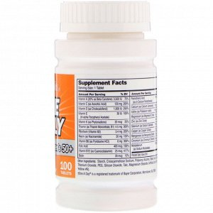 21st Century, One Daily, комплекс мультивитаминов и минералов для женщин старше 50 лет, 100 таблеток