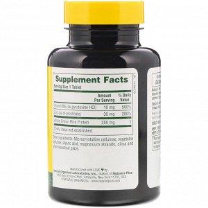 Nature&#x27 - s Plus, Пиколинат цинка с витамином B-6, 120 таблеток