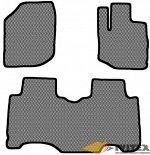 Ковры салонные Honda Fit (2007-2013) 2 ряд раздельный правый руль