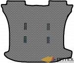 Коврик в багажник под 3 ряда кресел (2 ряд 2 кресла) без отв под 3 ряд Honda Freed  (2008-2016)
