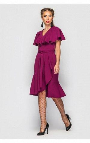 """Платье """"Дэйзи"""" (фиолетовый 1586)"""
