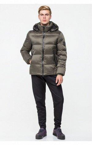 Теплая мужская зимняя куртка цвета хаки CW18MD054DN (459 хаки)