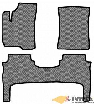 Ковры салонные Hyundai Santa Fe 4WD (CM) (2006-2012) левый руль