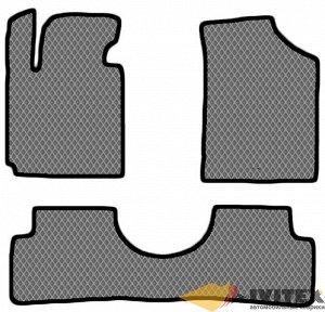 Ковры салонные Hyundai Veloster (2011-2018) левый руль