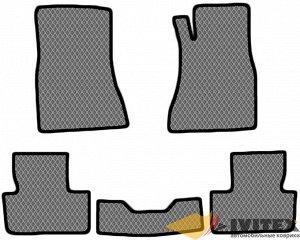 Ковры салонные Lexus IS250 2WD + 4WD (2005 - 2013) правый руль