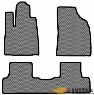 Ковры салонные Lexus RX450h (2009-2015) левый руль