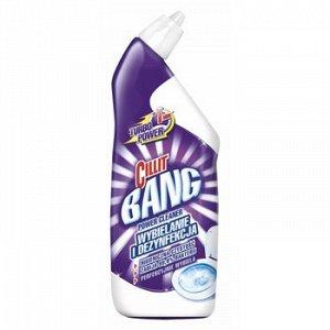 CILLIT BANG Средство для дезинфекции WC Анти-пятна+Гигиена Сила отбеливания , 750 мл