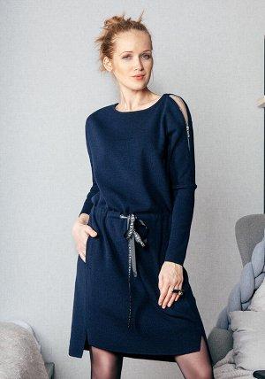 Платье Платье. Внимание: размер 2XL на 100 руб. дороже. Арт.41011- цвет каштан (2590). Состав: 50% шерсть, 50% дралон