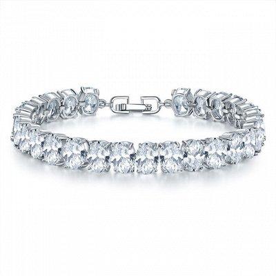 Более 700 украшений с кристаллами S*warovski от 190 рублей/2 — Браслеты с кристаллами Swarovski — Браслеты