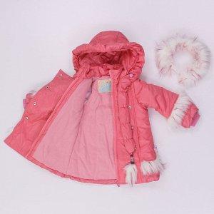 Комплект Грейс цвет розовый\коричн