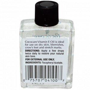 Cococare, 100% масло с витамином E, .5 жидких унций (15 мл)