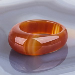 Кольцо Сердолик цельное (Африка)