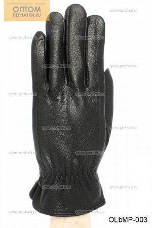 Перчатки мужские кожаные на меху