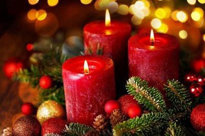 🎄Волшебство!  *★* Новый год Спешит! ❤ Создай свою сказку!🎅   — Свечи с ароматом! Создай атмосферу праздника! 10шт=49 руб. — Все для Нового года