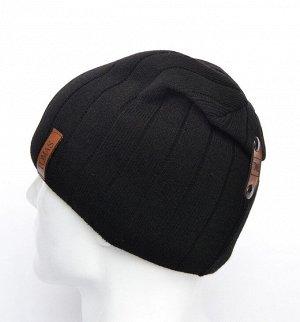 114a03 шапка 58 -60 см, , Полный подклад флис -  Шерсть 50% - Акрил 50%