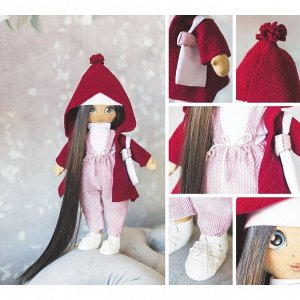 Интерьерная кукла «Кэтти», набор для шитья, 18 ? 22.5 ? 3 см