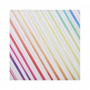 Набор бумаги для скрапбукинга с фольгированием «В стране единорогов», 12 листов, 20 ? 20 см