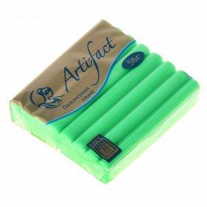 Пластика - полимерная глина 56г флуоресцентный Зеленый