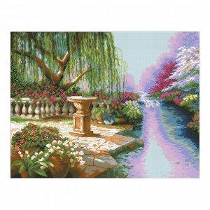Набор алмазной вышивки «Ивовый сад»