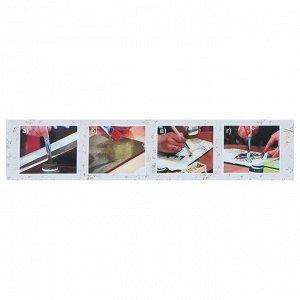 Декупаж, набор, «Аква-Колор»: акриловый грунт, клей для Декупажа, лак акриловый матовый, лак кракелюра одношаговый, в картонной коробке